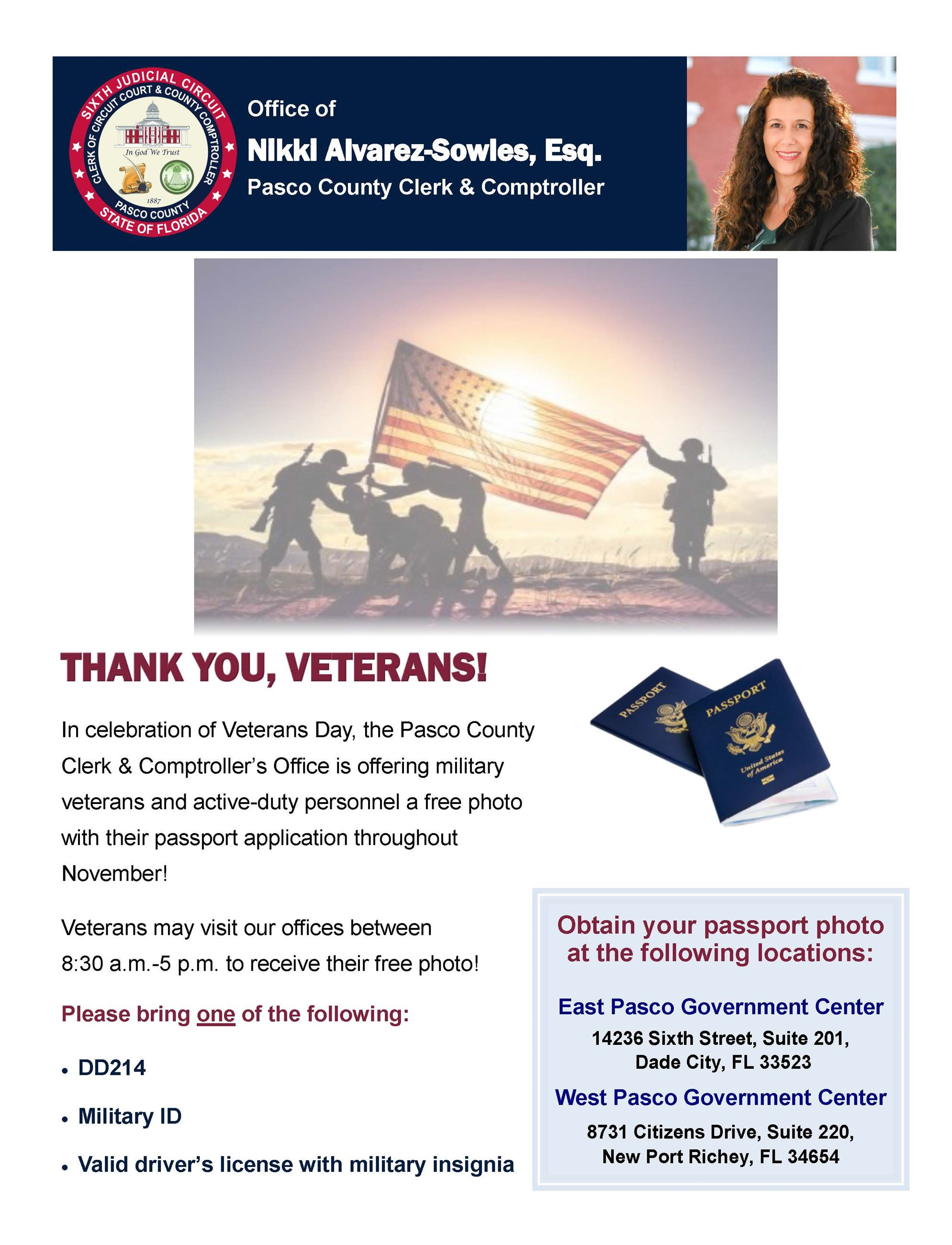 Veterans Day Flyer 2019